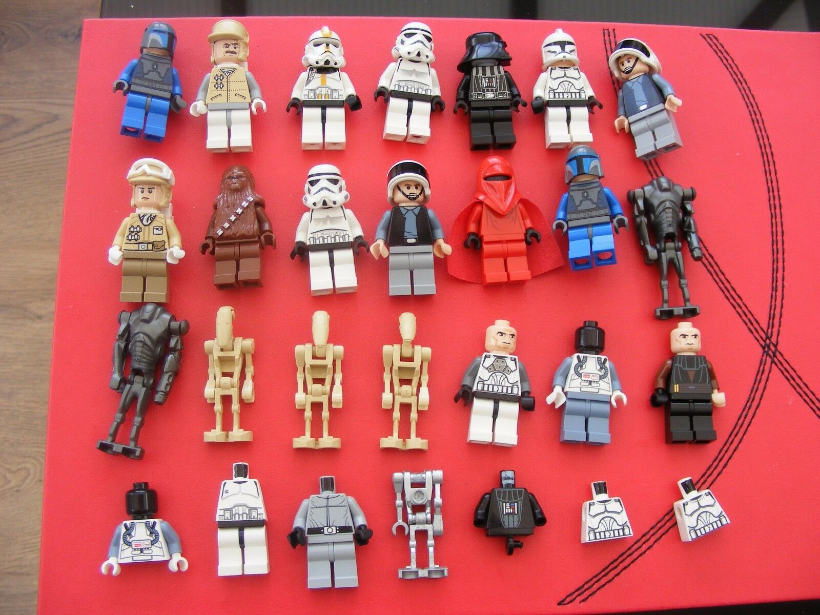 LEGO Star Wars bundle 1 and some spares l@@k VERY NICE ref337