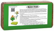 Kokos Humusziegel 24 x 650g = 216 L lockere Blumenerde torffrei Wasserspeicher
