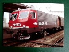 Cartolina Postcard SBB Locomotiva Re 4/4 1982 nr.10101  [TR8-1 ]