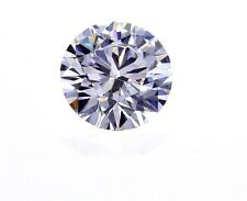 GIA Certified Natural Round Cut Loose Diamond 1/3 Ct D Color VVS1 Clarity