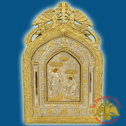 Orthodox Icon Annunciation of Tinos Angels Frame Orthodoxe Ikone Verkündigung