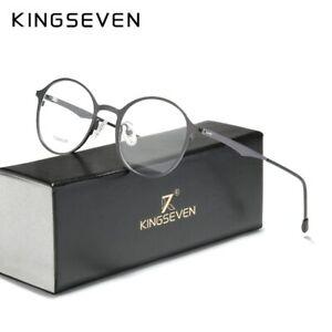 KINGSEVEN-Original-Titanium-Optical-Glasses-Full-Frame-Men-Ultralight-Retro