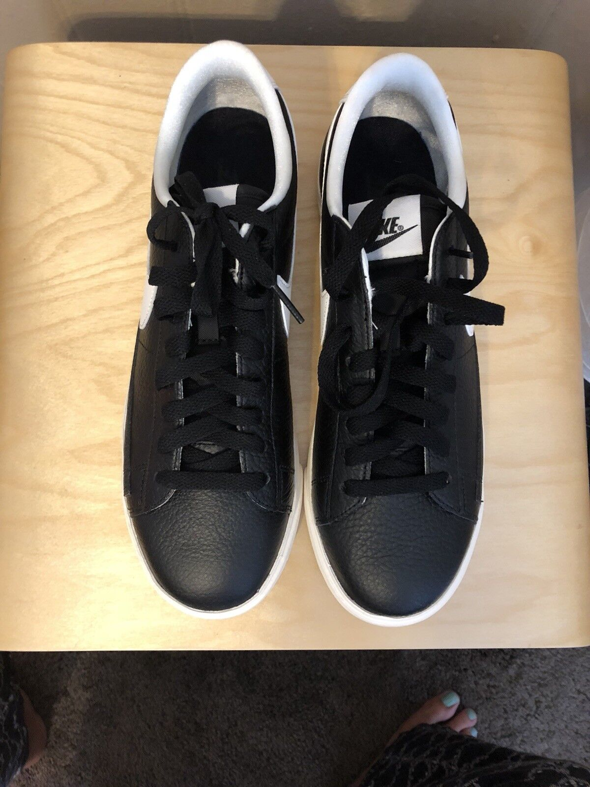 NIKE BLAZER LOW LTR PRM WOMEN`S SHOES TRAINING RUNNING ATHLETIC NEW SZ 10
