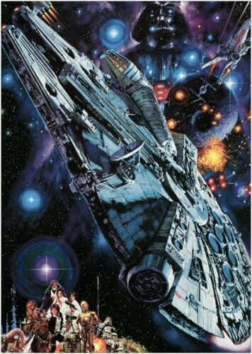 Movie About Space The Empire Strikes Back Art  A0 A1 A2 A3 A4 Satin Photo Poster