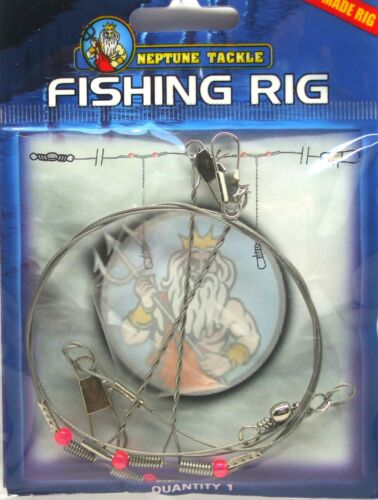 Neptune Fishing Rig Pre Tied Rig BRAND NEW
