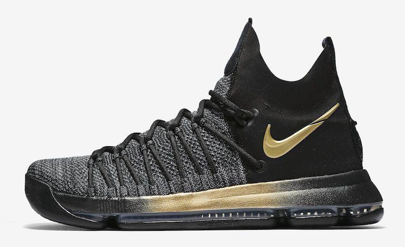 Nike Zoom KD 9 IX size 13. Flip The Switch. Black Gold. 878639-007.