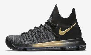 sports shoes d489e 0b840 Details about Nike Zoom KD 9 IX size 12.5. Flip The Switch. Black Gold.  878639-007.