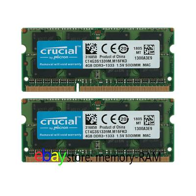 New Hynix 4GB 4G Kit RAM 2Rx8 PC3-10600S DDR3 1333Mhz SO-DIMM Memory Laptop Lot