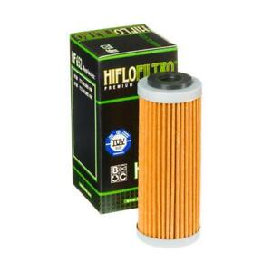 KTM-505-Xc-F-Xcf-08-09-Filtro-de-Aceite-Calidad-Genuina-OE-Hiflo-HF652