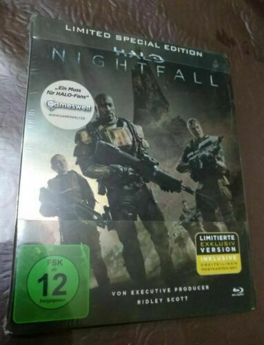 Halo Nightfall Limited Special Edition Steelbook Blu Ray Region B For Sale Online Ebay