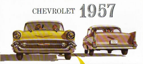 1957 CHEVROLET SALES BROCHURE