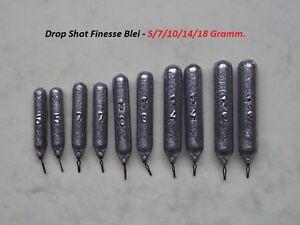 Drop Shot Blei Stab Gewichte Frei Auswahl  Raubfisch mit Wirbel