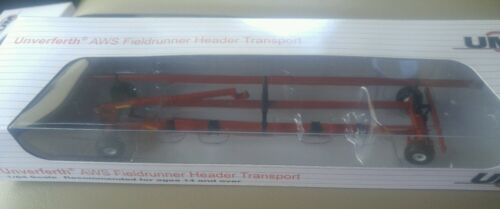 Spec Cast red NEW 1//64 Unverferth steerable Fieldrunner header cart trailer