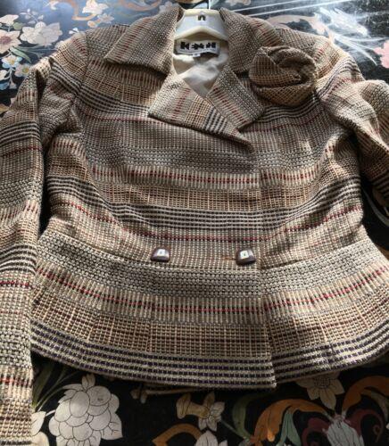 francese 6 tessuto misto York Kenth lana New in Taglia Andersson Blazer x8q1PfwZq