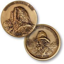 Yosemite National Park - California Bronze Challenge Coin