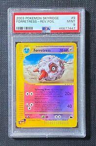 Pokemon-PSA-9-Forretress-Reverse-Foil-Skyridge-9-144-MINT