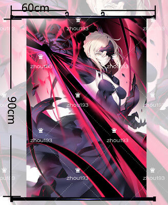 60*90CM Anime fate grand order  Poster  Wall Scroll HD Home Decor Gift #XM-12