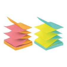 Post It Pop Up Notes Alternating Cape Town Colors 3 X 3 12 Pack