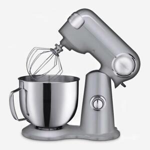 Cuisinart SM-50BCIHR Precision Master 5.5-Qt (5.2L) Stand Mixer - Silver Refurb