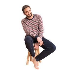5b6d31e31c242 Das Bild wird geladen Living-Crafts-Herren-Schlafanzug-Pyjama-Bio-Baumwolle