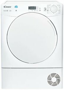 Candy-CSC8LF-8KG-Sensor-Dry-Condenser-Tumble-Dryer-White
