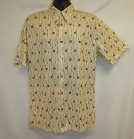 Dragonfly L 46 Shirt Disco Series 70's Vtg Themed Stretchy Groovy