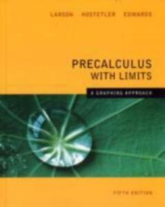 LARSONS PRECALCULUS WITH LIMITS EPUB