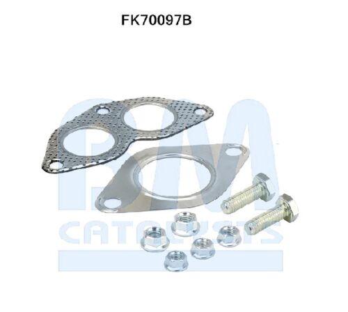 FK70097B pot d/'échappement Kit de montage pour FRONT PIPE BM70097