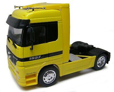 MERCEDES-BENZ ACTROS Vert Échelle 1:32 Welly 32280 G Super Transporteur
