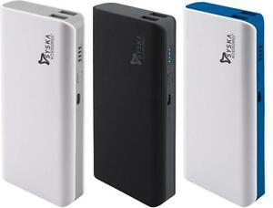 Syska 11000 mAH X 110 2 USB Port Power Bank +DC 5V 2.1A 11000mah available at Ebay for Rs.895