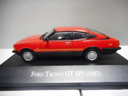 FORD TAUNUS GT SP5 1983 ARGENTINA SALVAT 1:43