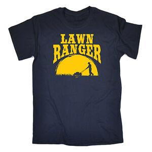 Divertido-Novedad-T-Shirt-Tee-Tshirt-cesped-Ranger-Para-Hombre