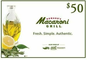 50-Macaroni-Grill-Gift-Card-2-x-25-15-OFF-FAST-via-Message-and-Email