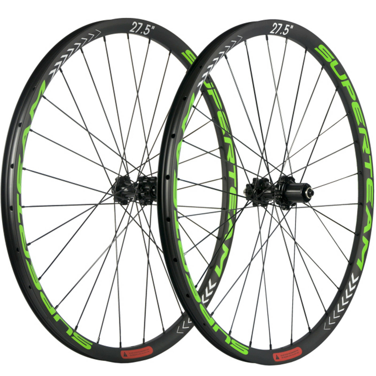 SUPERTEAM 27.5ER  Carbon MTB Wheelset 6 Bolts Mountain Bike Carbon Wheels UD Matt  shop online today