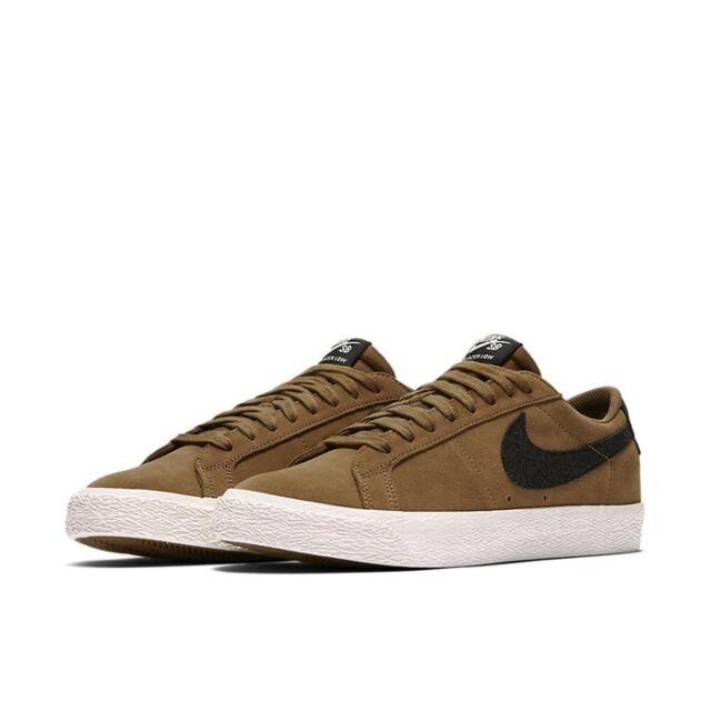 Nike SB Zoom Blazer Low Mens Shoes Sz 10 Golden Beige/ BLK Retail ...
