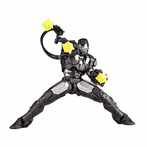 Kaiyodo-Revoltech-Iron-Man-2-War-Machine-115mm-Figure-rm-006-Japan
