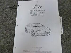 1998 Jaguar XK8 Coupe Convertible Electrical Wiring ...
