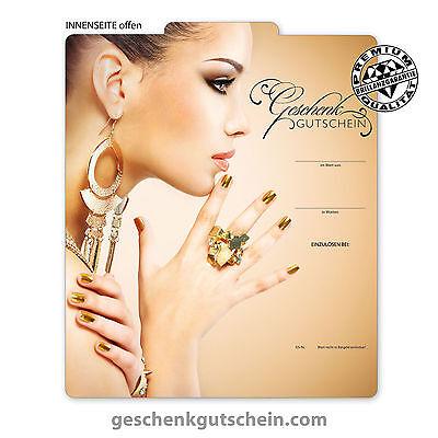 "Premium Faltgutscheine ""Multicolor"" für Kosmetik Beauty Nägel Nail Art KS269"