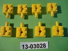 4160228 Lego Stein Modifiziert 1 x 2 mit Pin Weiß 5 Stück LEGO Bausteine & Bauzubehör