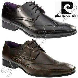 83eee810a1a Image is loading MENS-PIERRE-CARDIN-LEATHER-SHOES-ITALIAN-FORMAL-OFFICE-