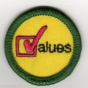 retired girl scouts junior badge patch 2000 2011 it s