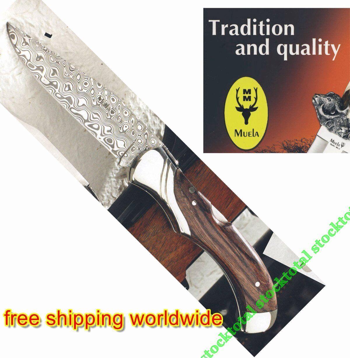 Navaja acero damasco GL-10DAM -               -free shipping worldwide -  Sin impuestos