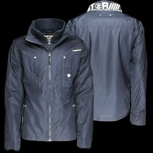 2c1cf0cb5 Details about Mens Full Zip MJ DEXTER Padded Collar Double Layer Winter  Warm Jacket