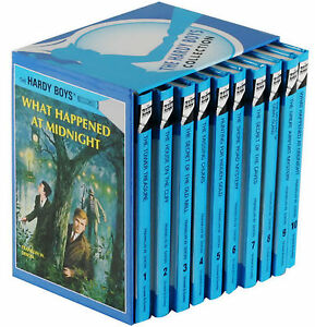 The-Hardy-Boys-Collection-10-Hardcover-Books-Gift-Box-Set-Franklin-W-Dixon-New