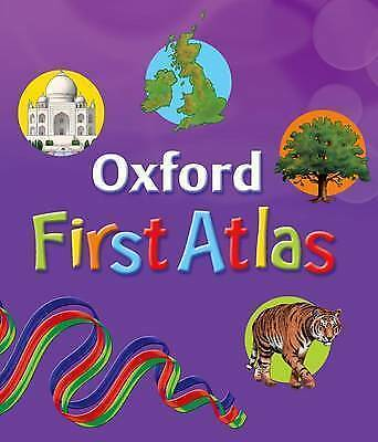 """AS NEW"" Oxford First Atlas, Wiegand, Dr Patrick, Book"