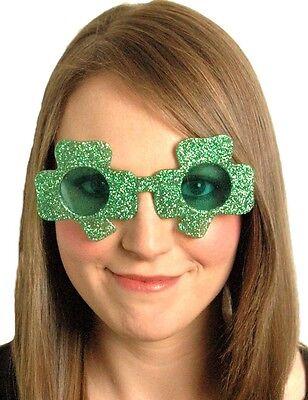 New Green Irish Trifoglio Occhiali Occhiali Da Sole S. Patrizio-mostra Il Titolo Originale A Tutti I Costi