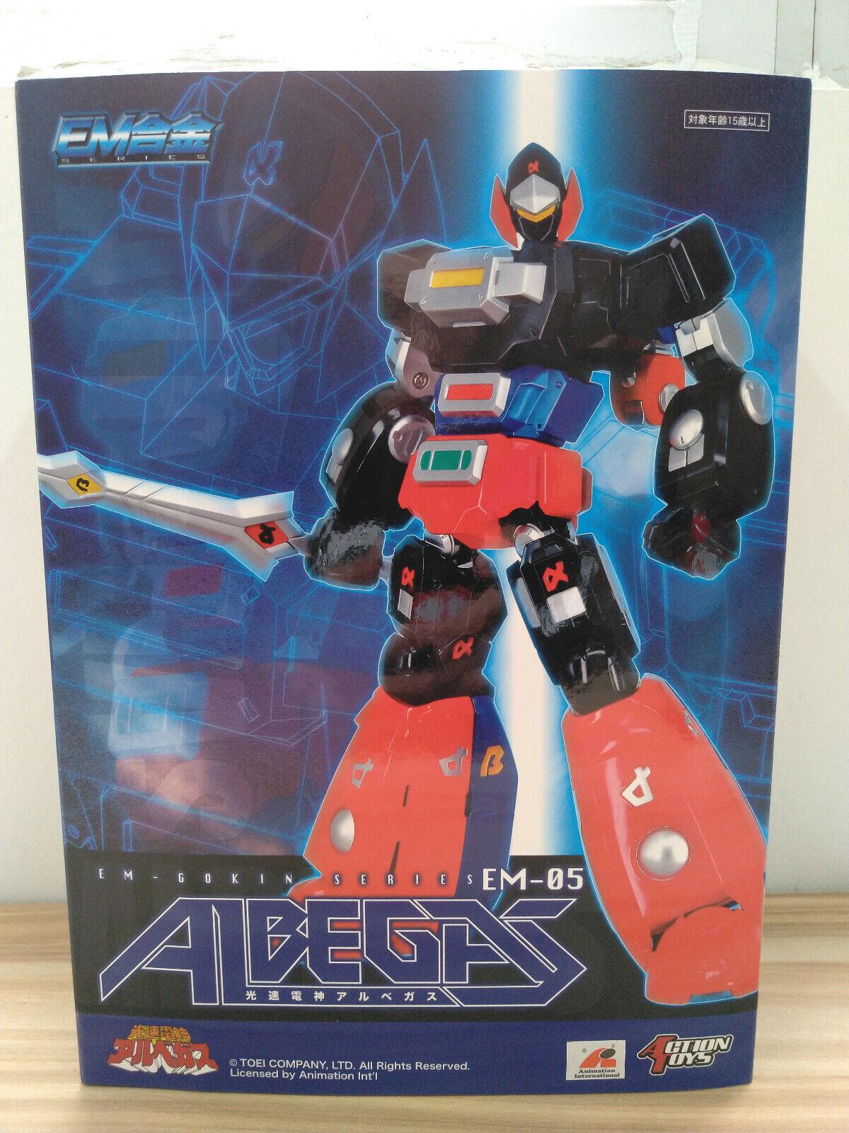 Action Toys EM-Gokin Series Lightspeed Electroid Albegas Action Figure EM-05