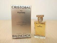 Cristobal pour Homme Balenciaga Men Perfume Miniature Mini Fragrance New w/Box