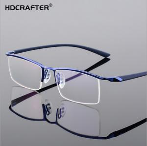 53ec70d893 Image is loading Men-Business-Rimless-Memory-Titanium-Alloy-Glasses-RX-