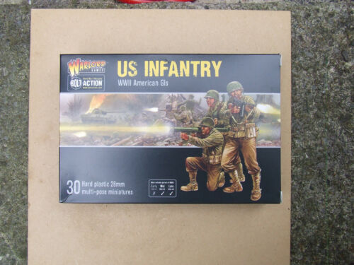 Wargames & Role-Playing Toys & Games USA WWII GI's 28mm Bolt ...